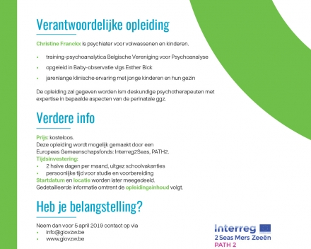 Gio en Interreg/PATH