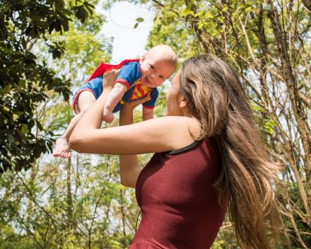 Psychotherapeutisch groepsaanbod voor moeder & kind 0-12 maanden