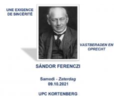 8ste Open Studiedag - Sandor Ferenczi - VASTBERADEN EN OPRECHTT